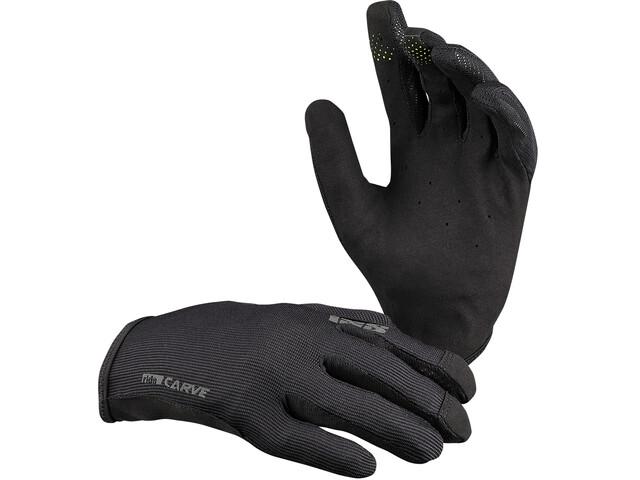 IXS Carve Gloves Women, negro
